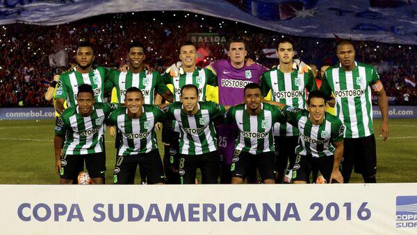 El equipo del club Atlético Nacional - Sputnik Mundo