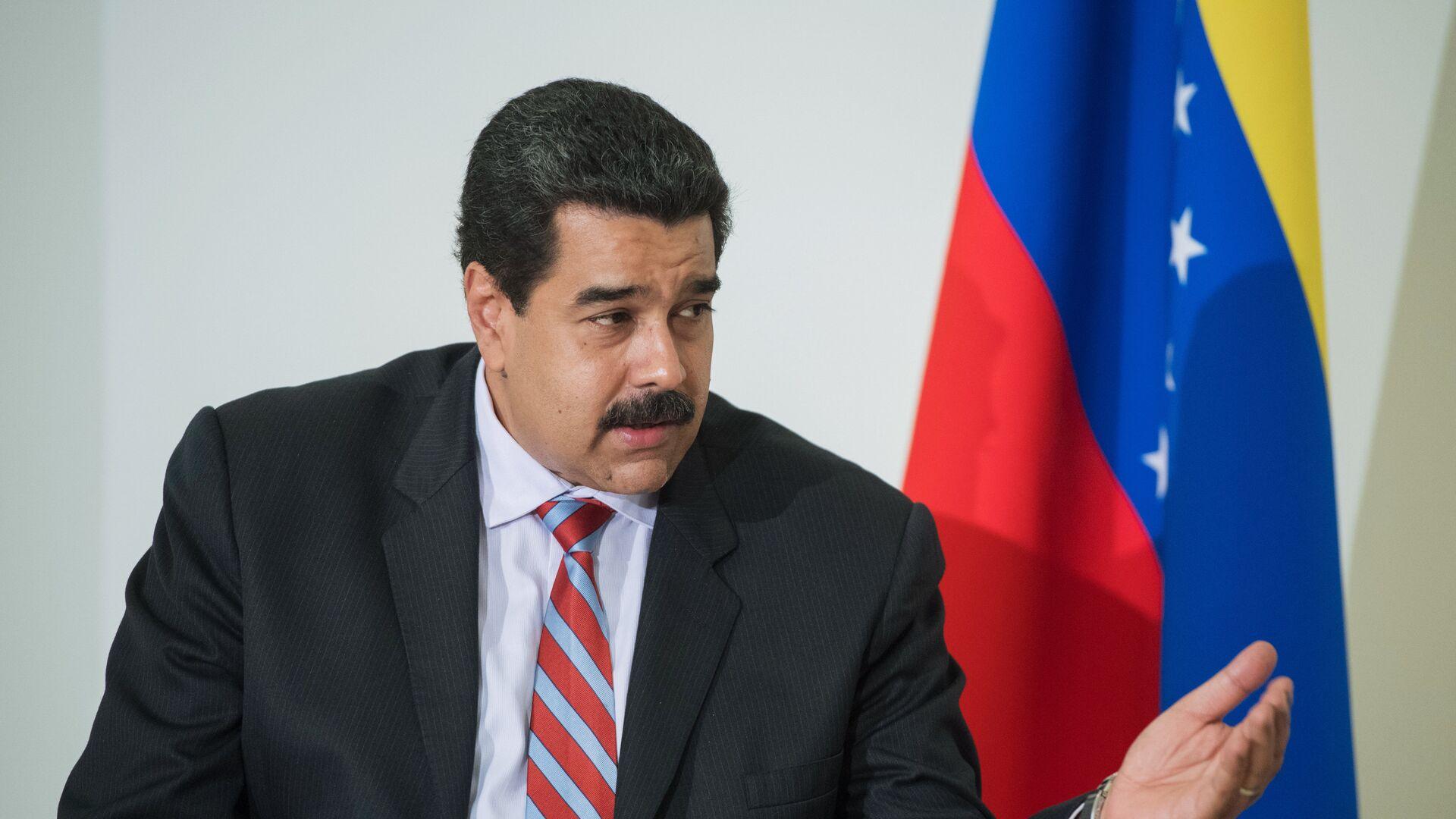 Nicolás Maduro, presidente de Venezuela - Sputnik Mundo, 1920, 12.10.2021