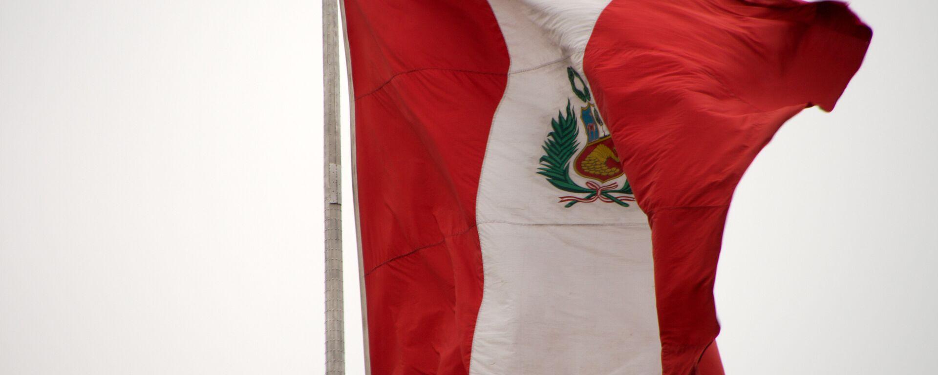 La bandera de Perú - Sputnik Mundo, 1920, 01.10.2021