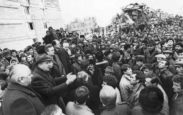 Consecuencias del terremoto en Gyumri (Archivo) - Sputnik Mundo
