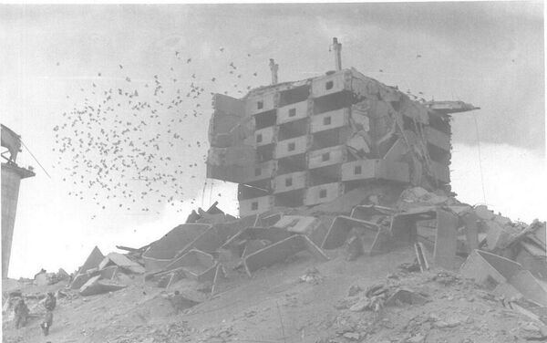 Consecuencias del terremoto en Spitak (Archivo) - Sputnik Mundo