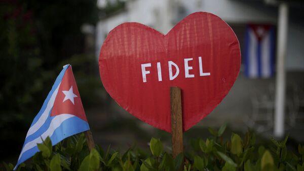 Acto en memoria de Fidel Castro - Sputnik Mundo
