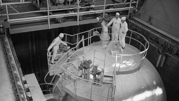 Planta nuclear de Novovoronezh, 1964 - Sputnik Mundo