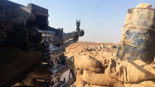 Posición del Ejército sirio en el sur de Alepo (archivo) - Sputnik Mundo