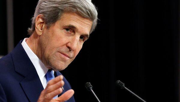 John Kerry, ex secretario de Estado de EEUU - Sputnik Mundo