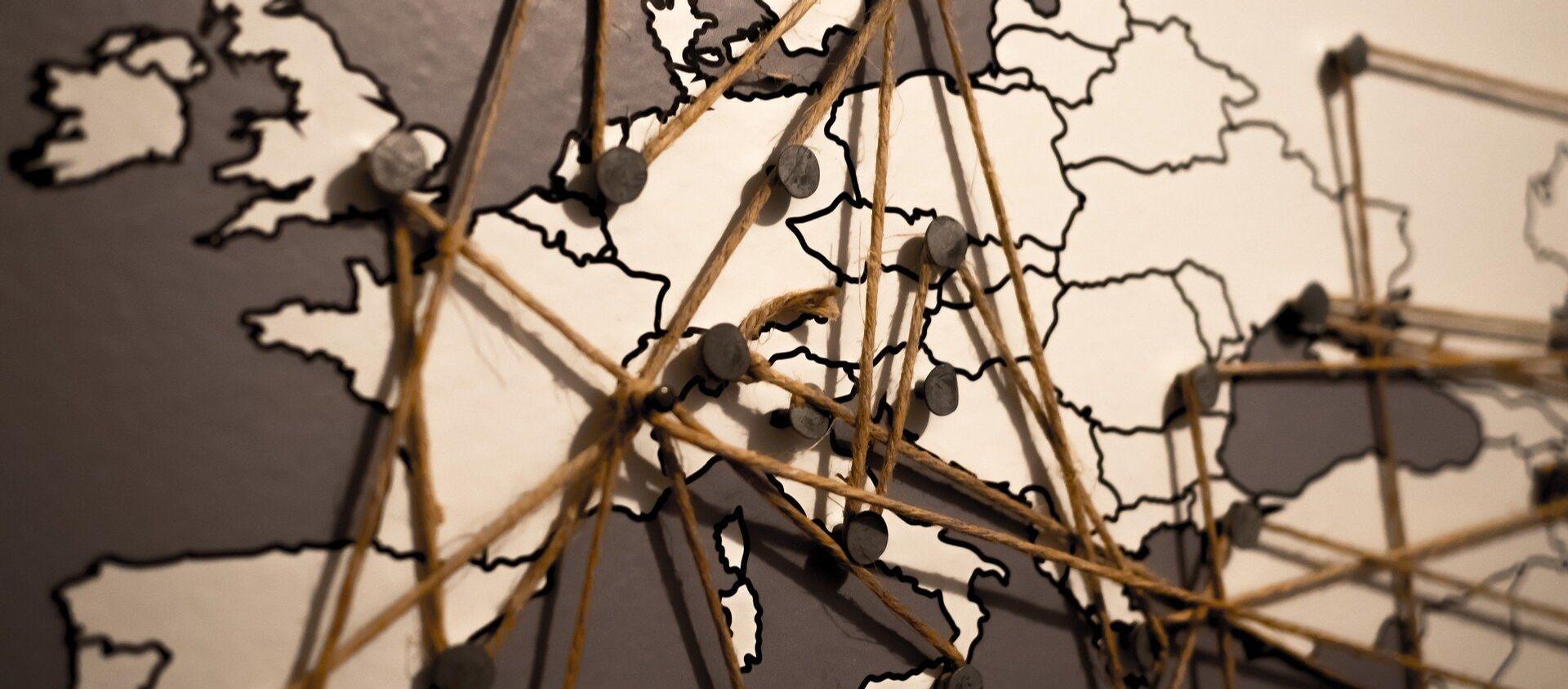El mapa de Europa - Sputnik Mundo, 1920, 11.06.2020
