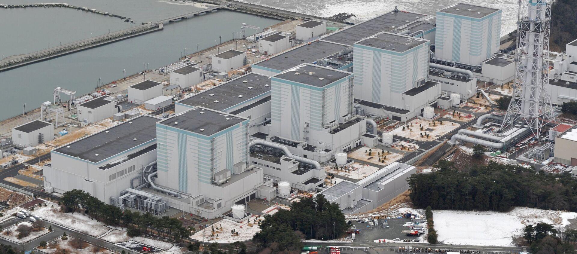 La central nuclear japonesa de Fukushima - Sputnik Mundo, 1920, 16.10.2020