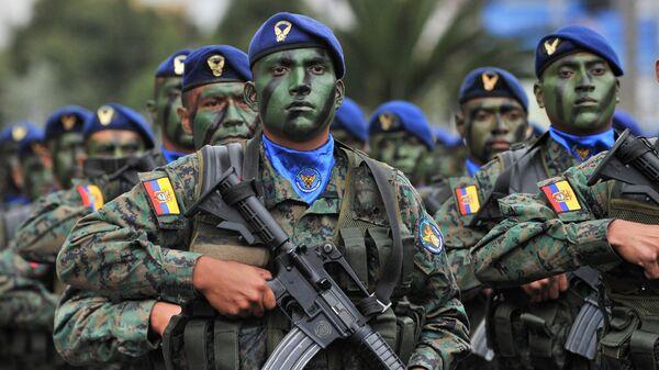 Ejército de Ecuador - Sputnik Mundo