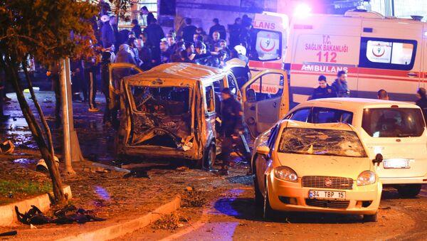 Explosión en Estambul - Sputnik Mundo