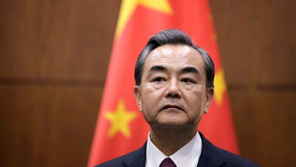 Wang Yi, ministro de Relaciones Exteriores de China - Sputnik Mundo