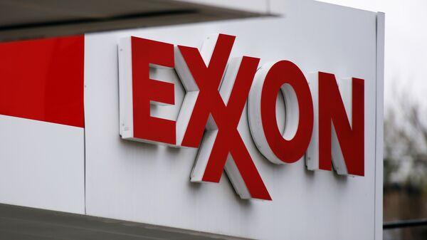 Logo de Exxon Mobil - Sputnik Mundo
