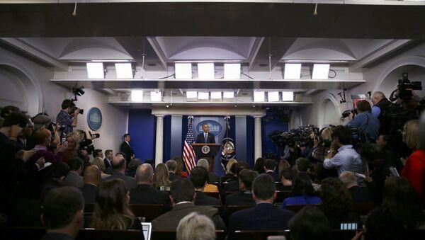 Barack Obama, presidente de EEUU - Sputnik Mundo