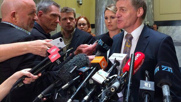 Bill English, primer ministro de Nueva Zelanda - Sputnik Mundo