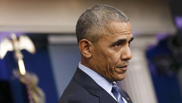 Barack Obama, presidente saliente de EEUU - Sputnik Mundo