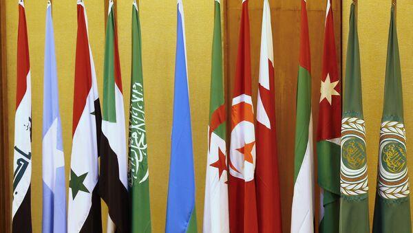 Banderas de los países de la Liga Árabe - Sputnik Mundo