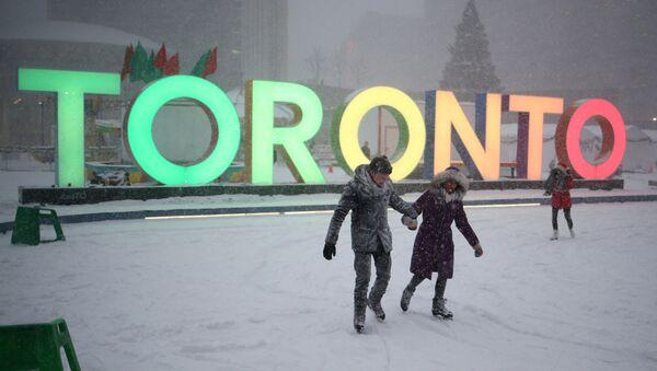 La ciudad canadiense de Toronto - Sputnik Mundo