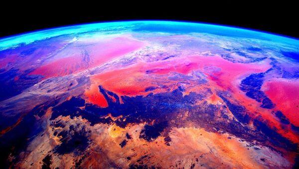 La vista de la Tierra desde el espacio - Sputnik Mundo