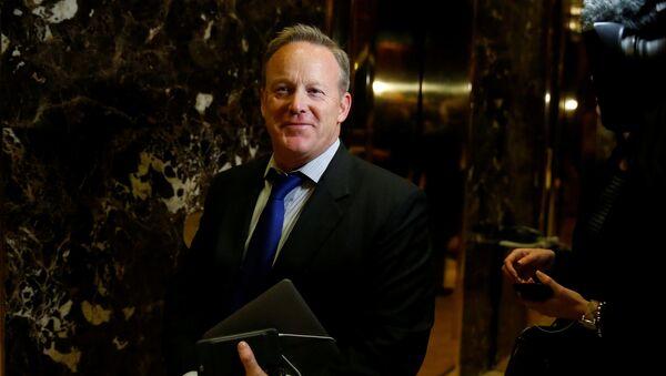 Sean Spicer, director de comunicaciones del Comité Nacional Republicano - Sputnik Mundo