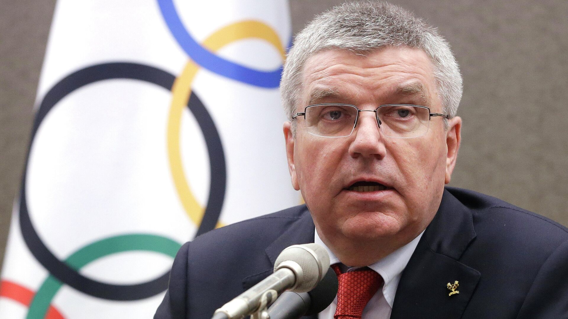 International Olympic Committee (IOC) President Thomas Bach speaks during a press conference in Seoul, South Korea, Wednesday, Aug. 19, 2015 - Sputnik Mundo, 1920, 08.08.2021