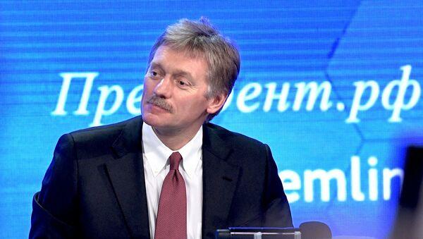Dmitri Peskov, portavoz del Kremlin - Sputnik Mundo