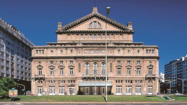 Teatro Colón, San Nicolás, Ciudad Autónoma de Buenos Aires - Sputnik Mundo