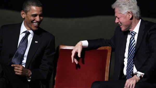 Obama y Clinton - Sputnik Mundo