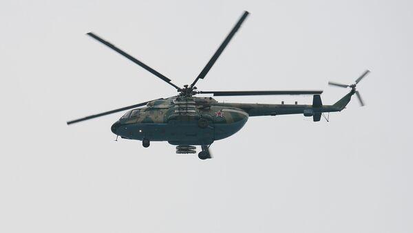 Un helicóptero Mi-8 - Sputnik Mundo