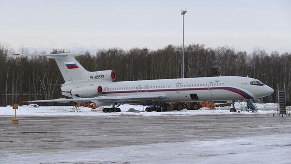 Tu-154 - Sputnik Mundo