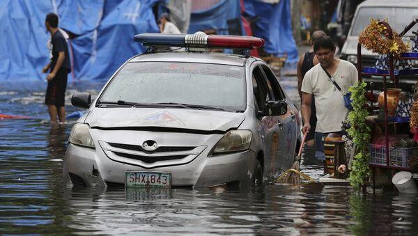 Consecuencias del tifón Nock-Ten en Filipinas - Sputnik Mundo