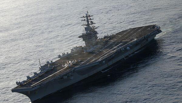 Portaviones estadounidense USS Eisenhower - Sputnik Mundo