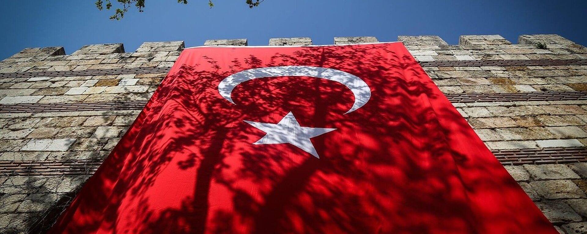 La bandera de Turquía - Sputnik Mundo, 1920, 15.02.2021