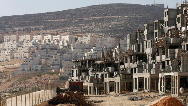 Construcción de viviendas para colonos judíos en Jerusalén - Sputnik Mundo