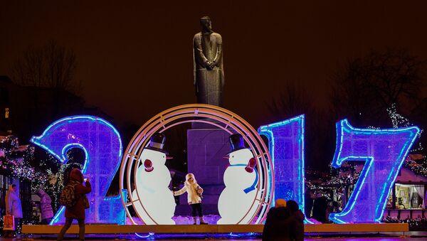 La decoración de Nochevieja - Sputnik Mundo