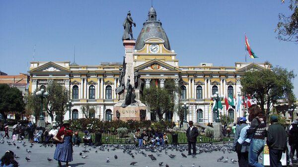 Palacio Nacional de Congreso, La Paz (Bolivia) - Sputnik Mundo