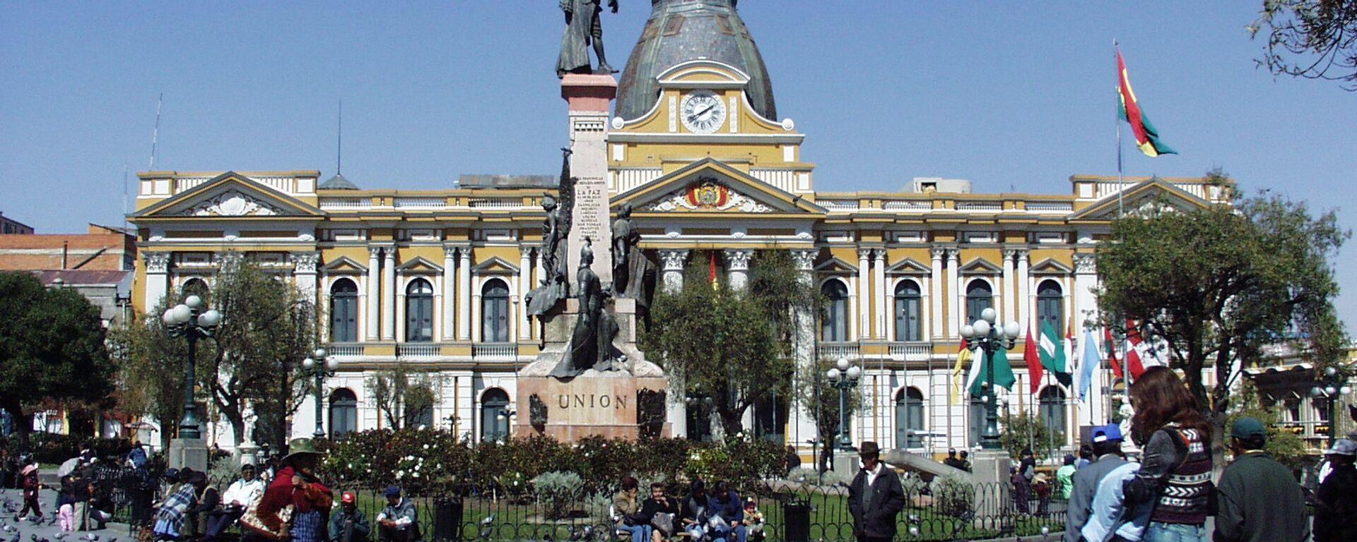 Palacio Nacional de Congreso, La Paz (Bolivia) - Sputnik Mundo, 1920, 29.01.2021