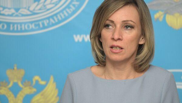 María Zajárova, portavoz del Ministerio ruso de Exteriores - Sputnik Mundo