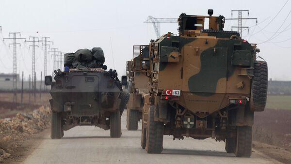 Los militares turcos en Siria - Sputnik Mundo