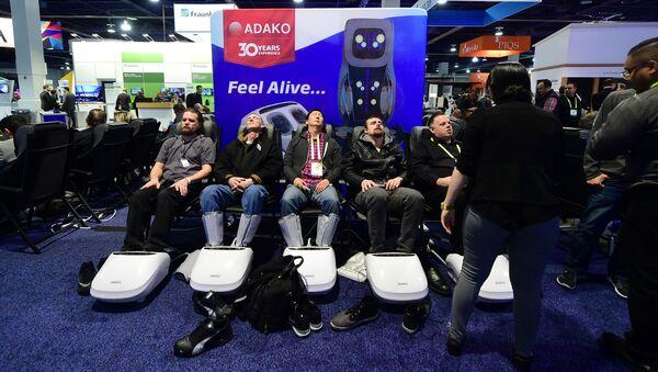 2017 Consumer Electronic Show (CES) in Las Vegas - Sputnik Mundo