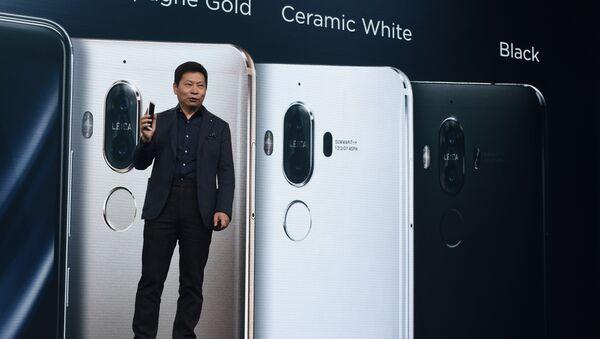 El Huawei Mate 9 - Sputnik Mundo