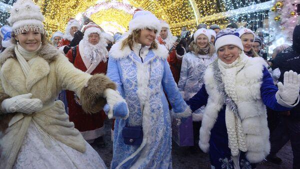 Las Nievecillas toman las calles de Moscú - Sputnik Mundo
