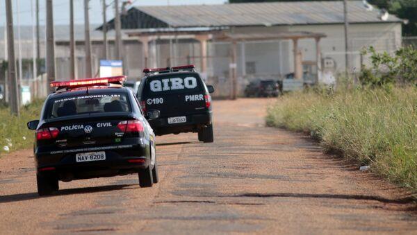Policía de Brasil - Sputnik Mundo