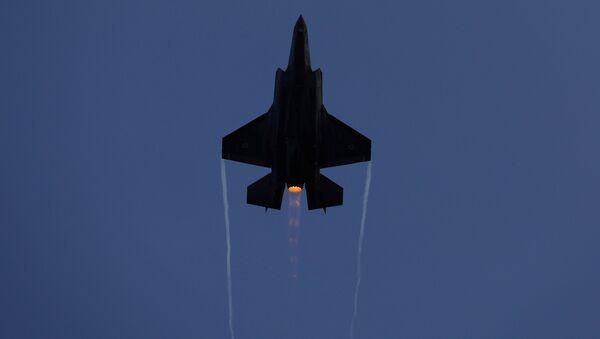 F-35, caza israelí - Sputnik Mundo