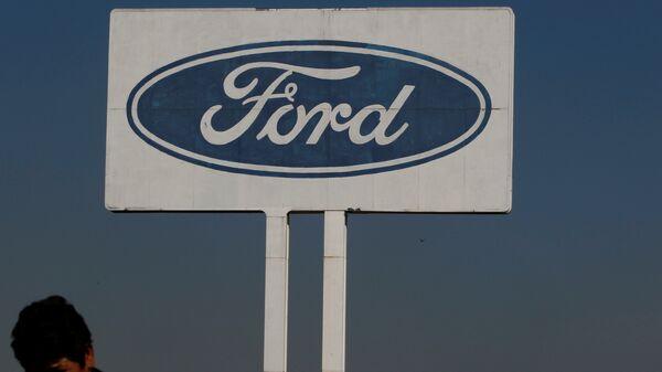 The Ford logo is seen at their plant in Cuautitlan Izcalli, Mexico - Sputnik Mundo