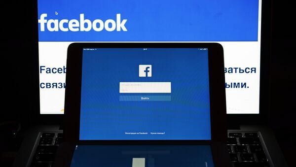 La red social Facebook - Sputnik Mundo