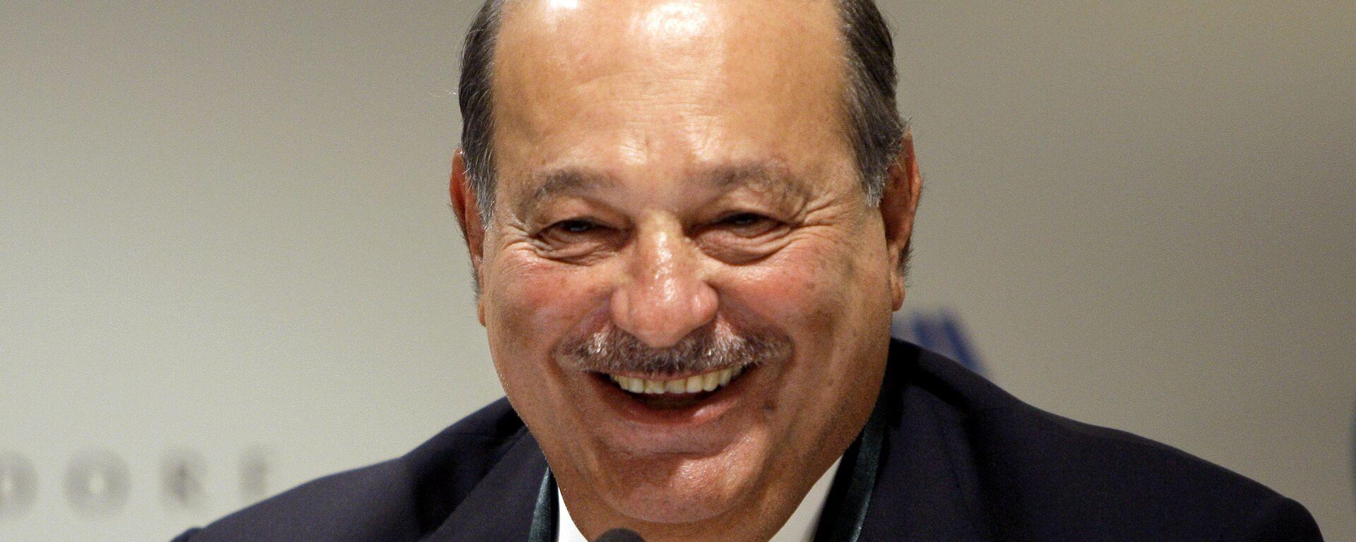 Carlos Slim, magnate mexicano - Sputnik Mundo, 1920, 24.08.2021