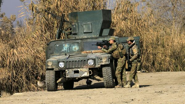El Ejército iraquí (archivo) - Sputnik Mundo