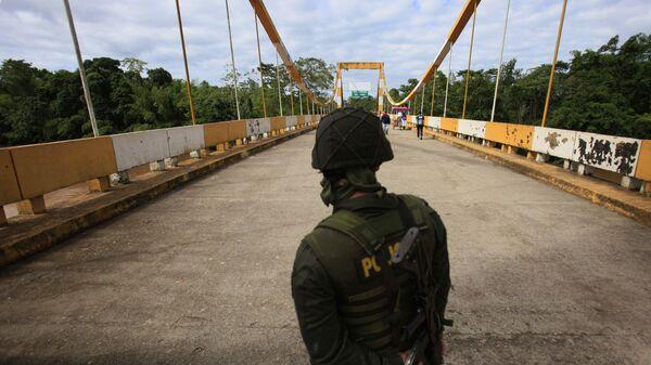 Frontera entre Colombia e Ecuador (archivo) - Sputnik Mundo