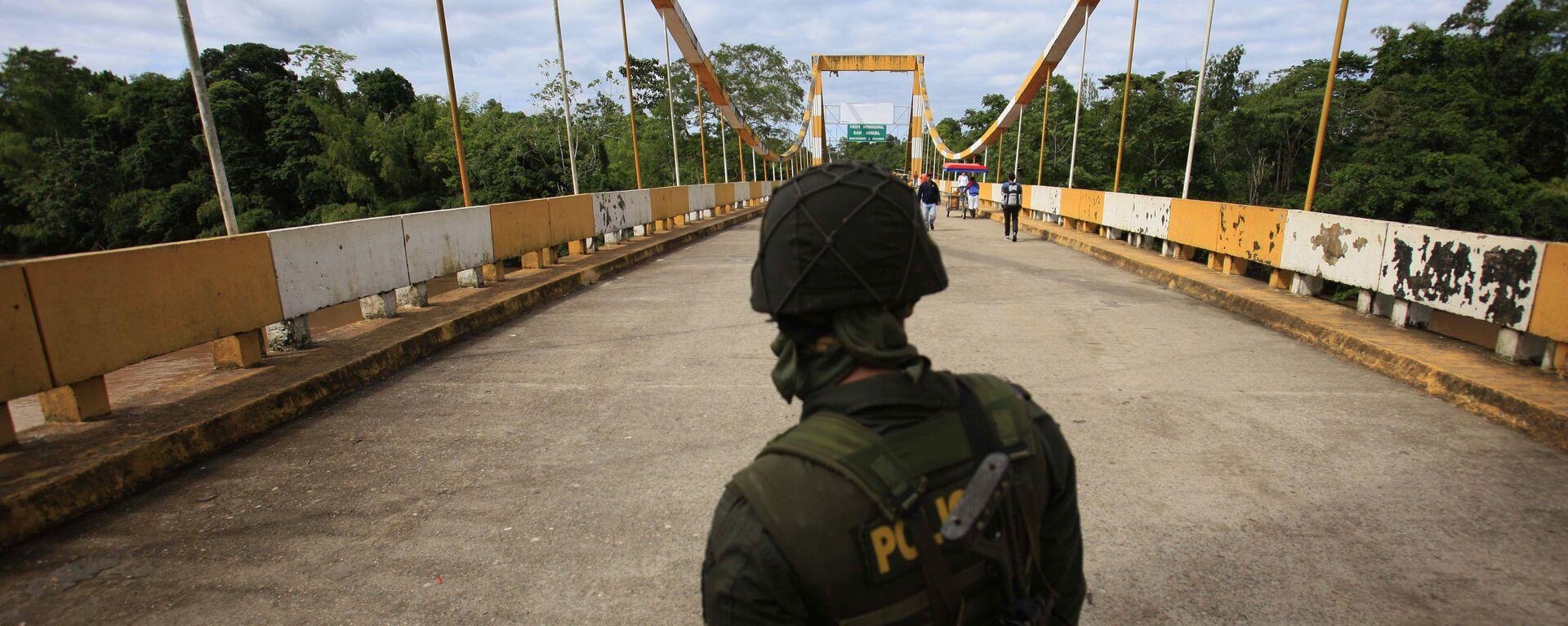 Frontera entre Colombia e Ecuador - Sputnik Mundo, 1920, 02.02.2021