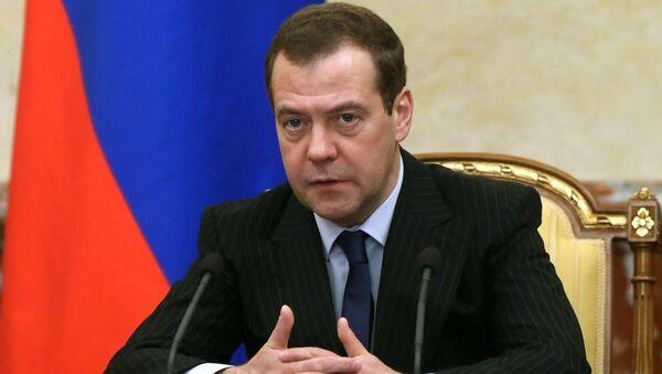 Dmitri Medvédev, primer ministro ruso - Sputnik Mundo