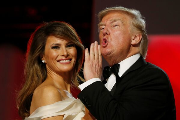 Así fue la ceremonia de investidura de Trump - Sputnik Mundo